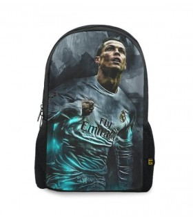 Cristiano Ronaldo art printed backpacks