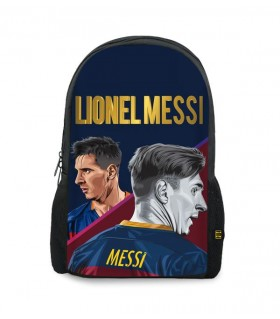 lionel messi art printed backpacks