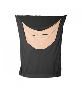 batman face printed bandana mask