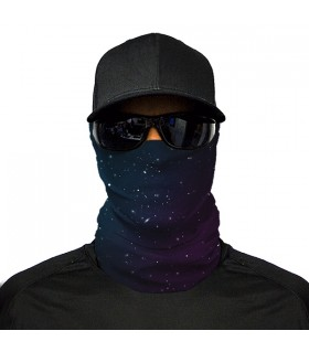 galaxy printed bandana mask