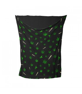 weed joint printed bandana mask
