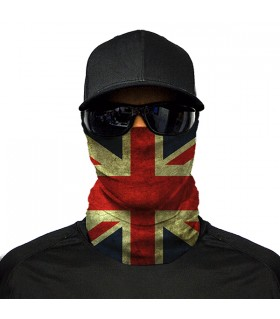 UK flag printed bandana mask