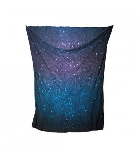 milky way printed bandana mask