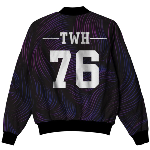 Twh All Over Printed Jacket