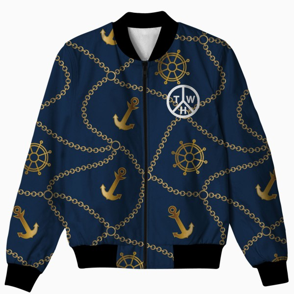 Anchor All Over Printed Jacket