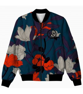 floral all over printed jacket