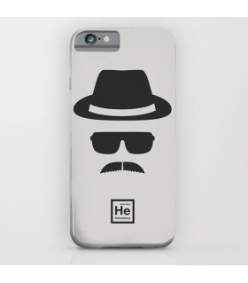 Breaking Bad Grey printed mobile cover