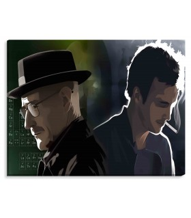 Breaking Bad Digital printed canvas frames