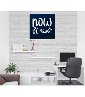 now or never canvas frames