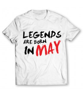 may printed graphic t-shirt