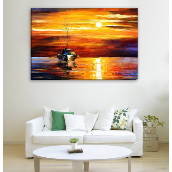 Sea Horizon Canvas Frames