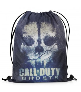 call of duty ghosts printed drawstring bag