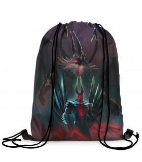 Terror Blade printed drawstring bag