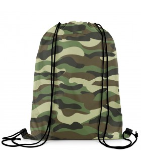 i love pak army printed drawstring bag