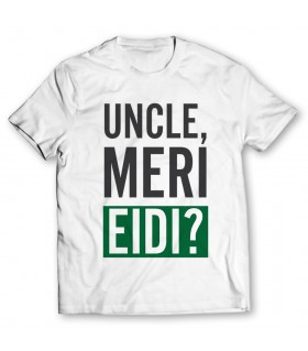 uncle meri eidi printed graphic t-shirt