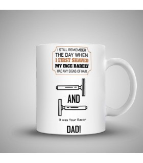i still remember art printed mug