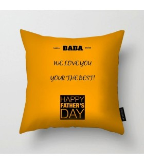 baba art printed pillow