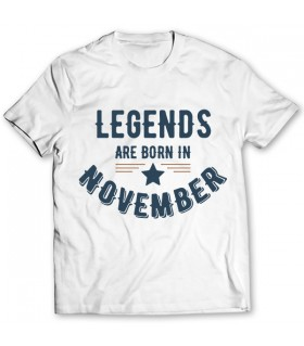 november printed graphic t-shirt