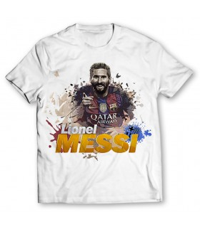 Lionel Messi printed  graphic t-shirt