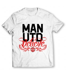 Man utd printed graphic t-shirt