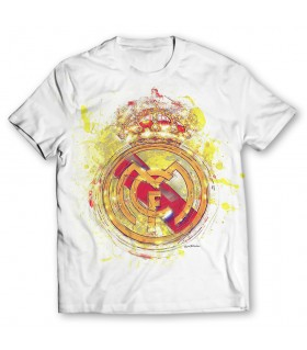Real madrid printed graphic t-shirt