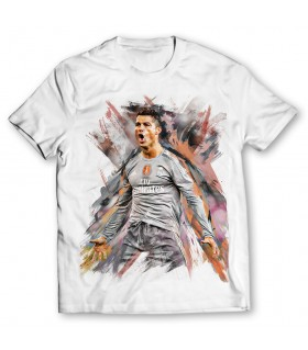 Ronaldo printed graphic t-shirt
