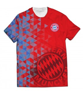 Fc bayern munich all over printed t-shirt