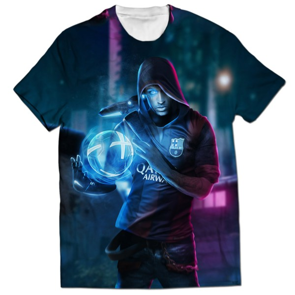 Neymar Jr all over printed t-shirt Rs.1-899 Price Online - TheWarehouse 3ddcdb72c
