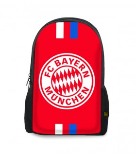 Bayern munchen printed backpacks