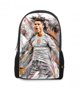 Cr7 printed backpacks