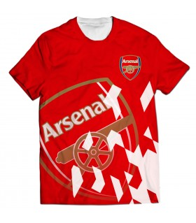 arsenal all over printed t-shirt
