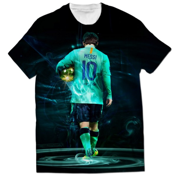 best value 363ad afc61 Lionel messi all over printed t-shirt