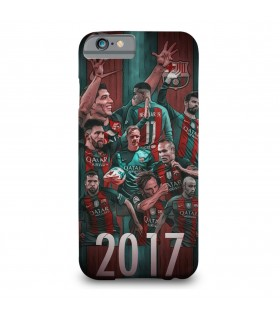 fc barcelona 2017 printed mobile cover