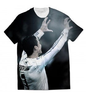 cristiano ronaldo all over printed t-shirt