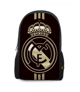 Real madrid printed backpacks