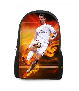 cristiano ronaldo printed backpacks