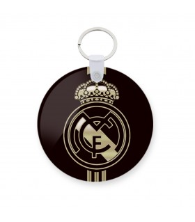 Real madrid printed keychain