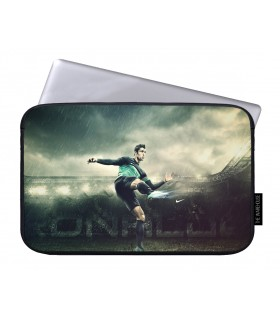 cristiano ronaldo printed laptop sleeves