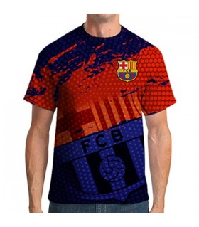 barcelona all over printed  t-shirt