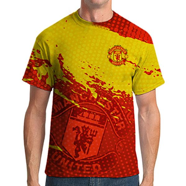 64970fe3a manchester united all over printed t-shirt Rs.1-899 Price Online ...