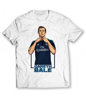 gareth bale printed graphic t-shirt
