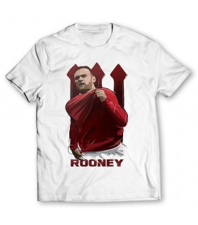 wayne rooney printed graphic t-shirt