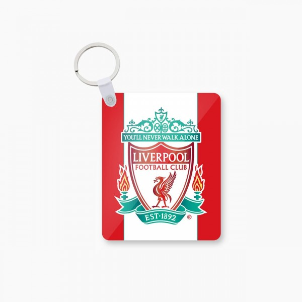 liverpool art printed keychain