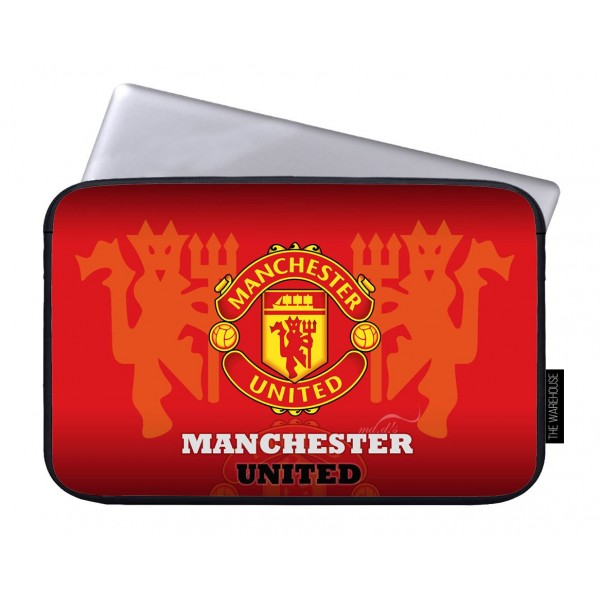 Manchester United Art Printed Laptop Sleeves