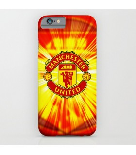 manchester united art printed mobile cover