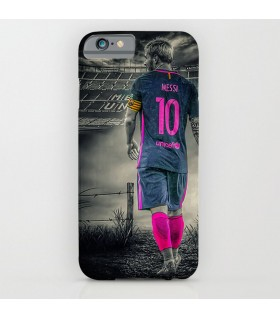 messi art printed mobile cover