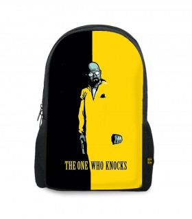 Breaking Bad Who Knocks printed backpacks
