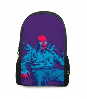 Breaking Bad Purple printed backpacks