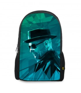 Breaking Bad Mr White printed backpacks