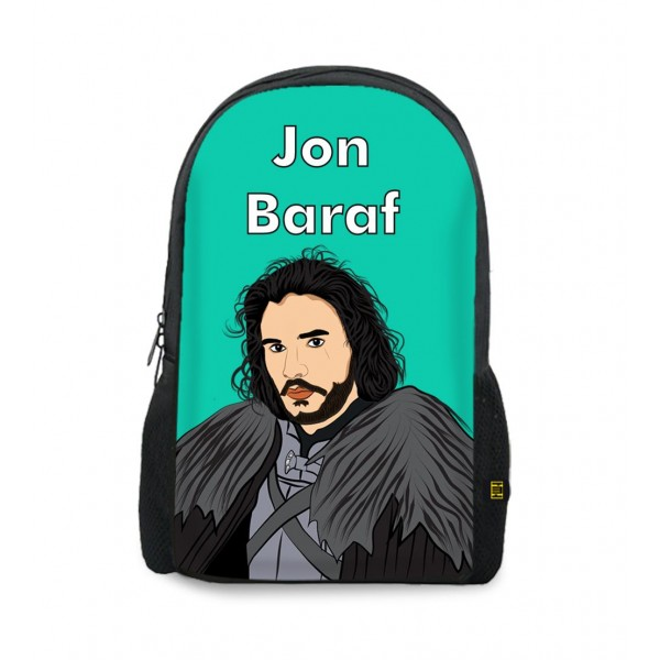 jon baraf art printed backpacks